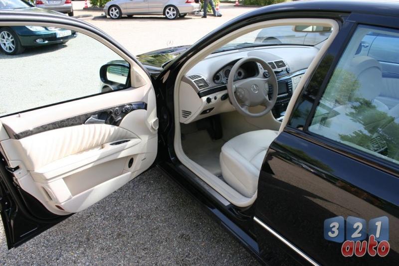 [Essai] La Mercedes E 420 CDI (W211)   Photo-61