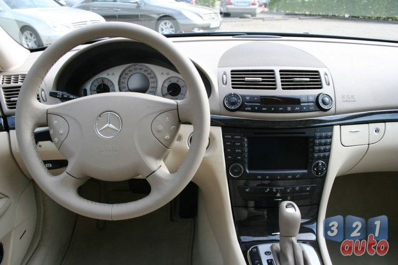 [Essai] La Mercedes E 420 CDI (W211)   Photo-64