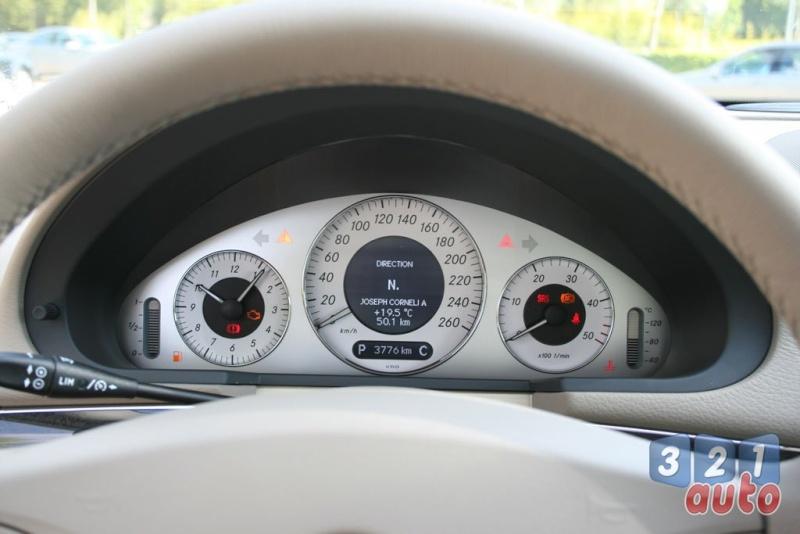 [Essai] La Mercedes E 420 CDI (W211)   Photo-65