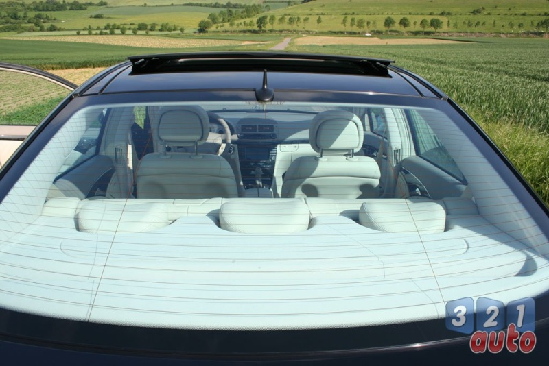 [Essai] La Mercedes E 420 CDI (W211)   Photo-70