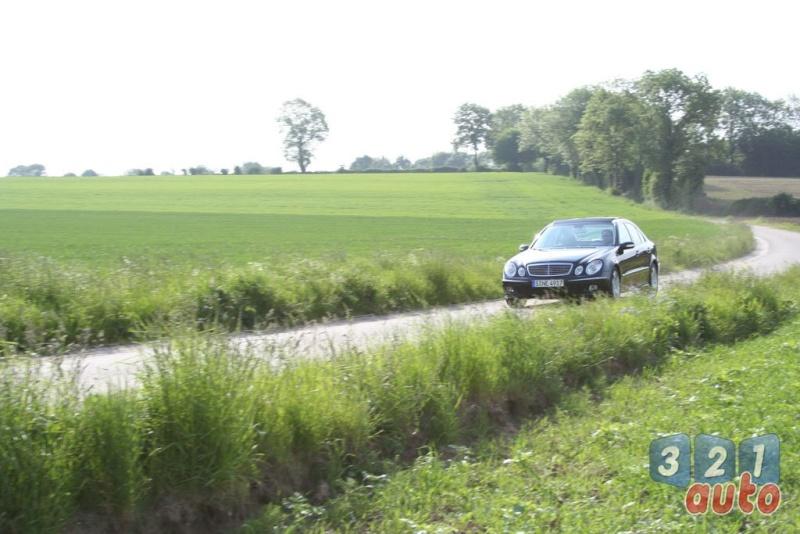 [Essai] La Mercedes E 420 CDI (W211)   Photo-71