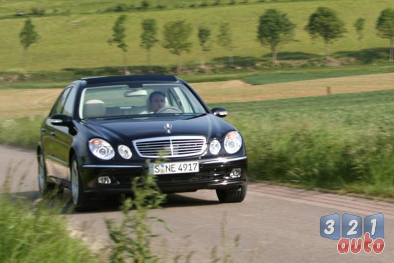 [Essai] La Mercedes E 420 CDI (W211)   Photo-72