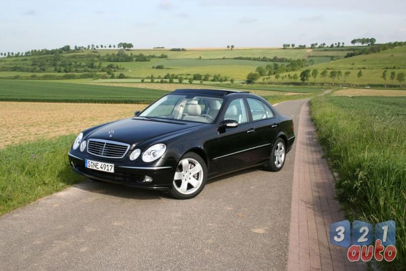 [Essai] La Mercedes E 420 CDI (W211)   Photo-75