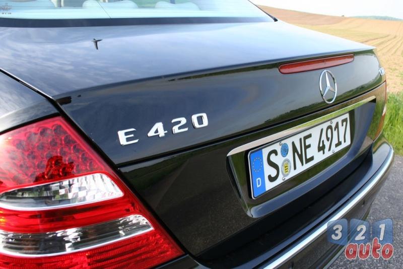 [Essai] La Mercedes E 420 CDI (W211)   Photo-76