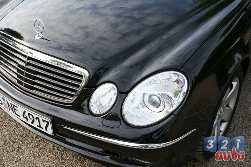[Essai] La Mercedes E 420 CDI (W211)   Photo-78