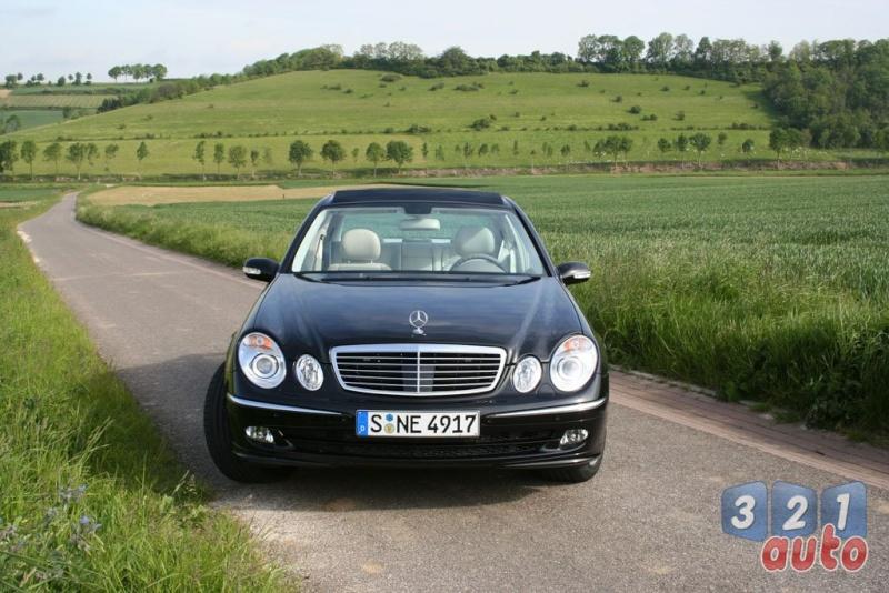 [Essai] La Mercedes E 420 CDI (W211)   Photo-82
