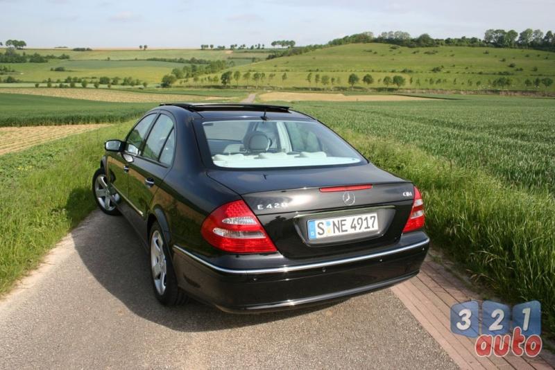 [Essai] La Mercedes E 420 CDI (W211)   Photo-83