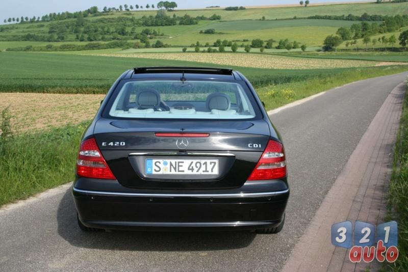 [Essai] La Mercedes E 420 CDI (W211)   Photo-84