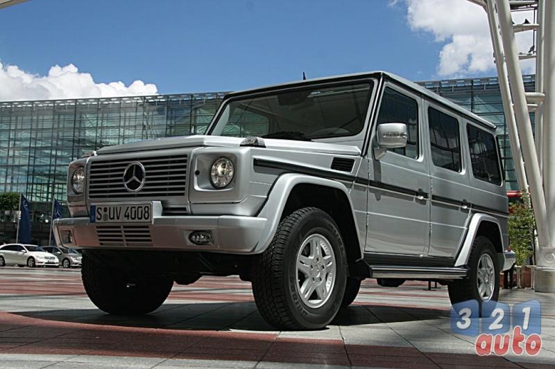 [Essai] Le Mercedes-Benz G 320 CDI Suv-me12