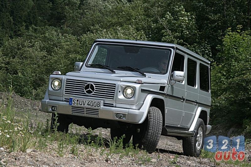 [Essai] Le Mercedes-Benz G 320 CDI Suv-me13