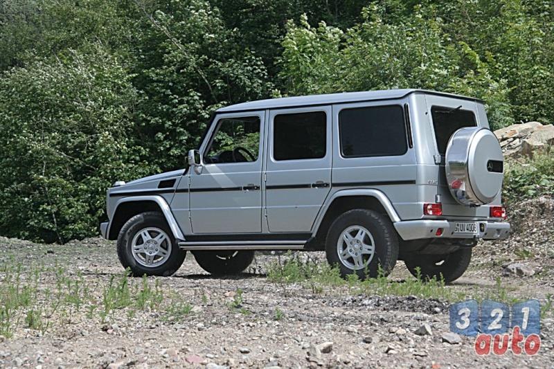 [Essai] Le Mercedes-Benz G 320 CDI Suv-me14