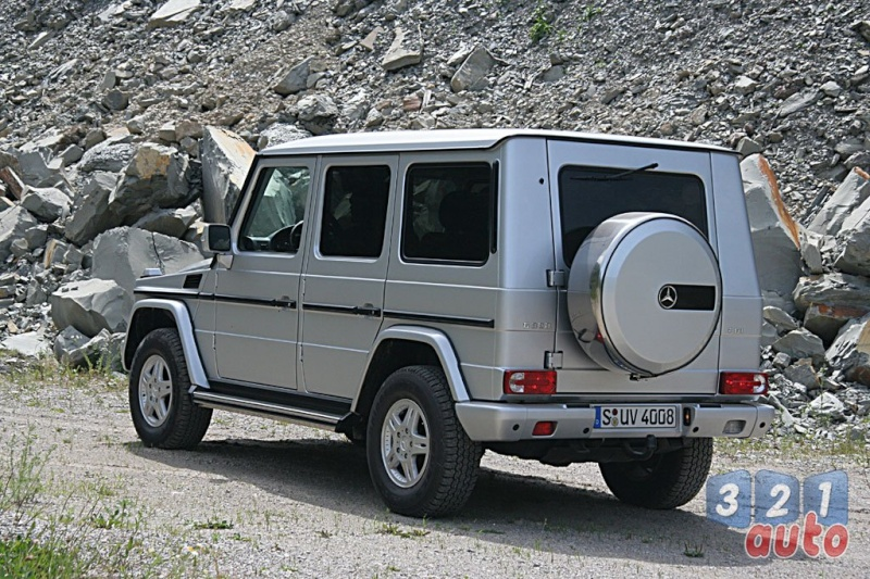 [Essai] Le Mercedes-Benz G 320 CDI Suv-me15