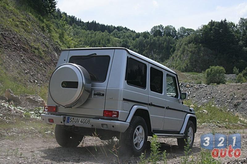 [Essai] Le Mercedes-Benz G 320 CDI Suv-me17