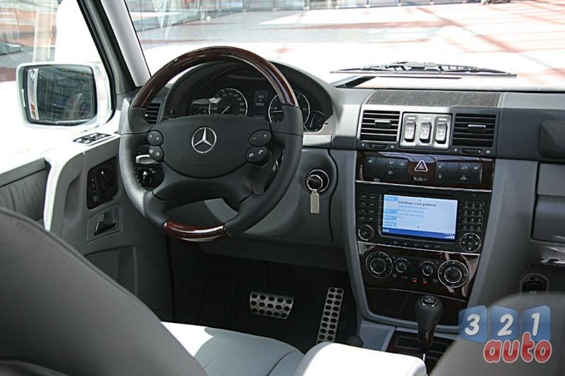 [Essai] Le Mercedes-Benz G 320 CDI Suv-me18