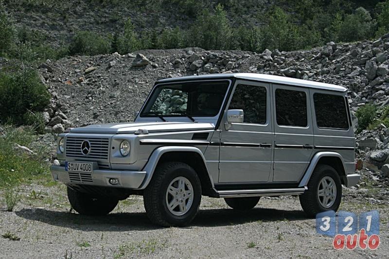 [Essai] Le Mercedes-Benz G 320 CDI Suv-me25