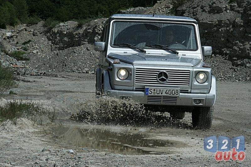 [Essai] Le Mercedes-Benz G 320 CDI Suv-me26