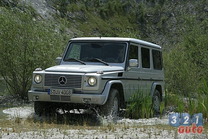 [Essai] Le Mercedes-Benz G 320 CDI Suv-me27