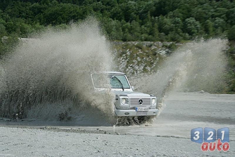 [Essai] Le Mercedes-Benz G 320 CDI Suv-me30
