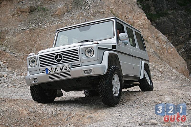 [Essai] Le Mercedes-Benz G 320 CDI Suv-me32