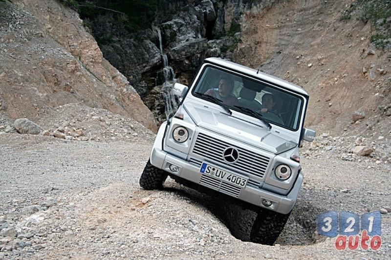 [Essai] Le Mercedes-Benz G 320 CDI Suv-me33