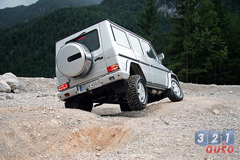 [Essai] Le Mercedes-Benz G 320 CDI Suv-me34