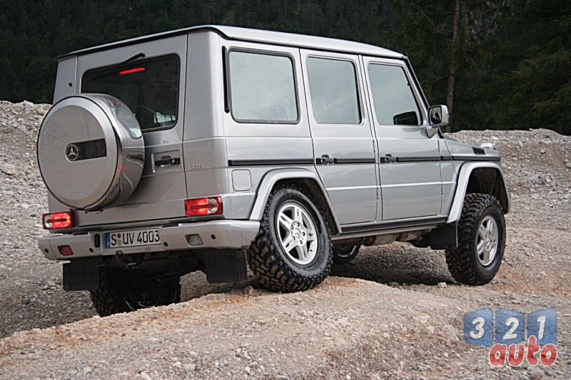 [Essai] Le Mercedes-Benz G 320 CDI Suv-me35