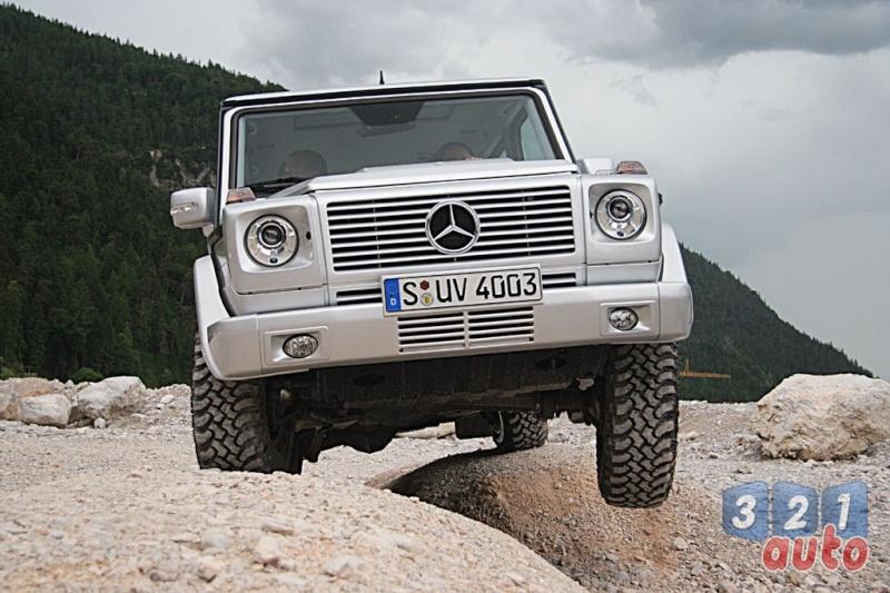 [Essai] Le Mercedes-Benz G 320 CDI Suv-me36