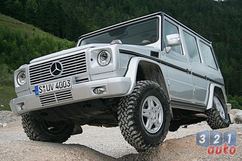 [Essai] Le Mercedes-Benz G 320 CDI Suv-me37