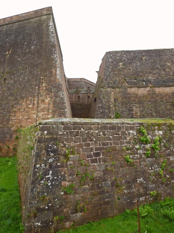 La citadelle de Bitche sous la pluie P1060326