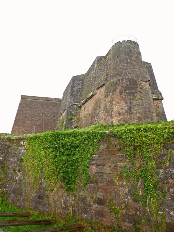 La citadelle de Bitche sous la pluie P1060327