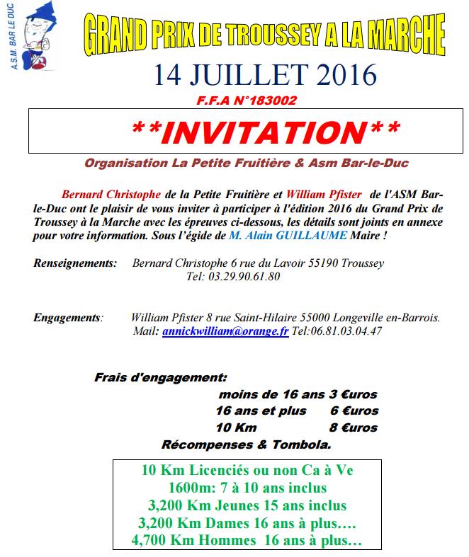 Grand prix de Troussey (55) : 10 km; 14 juillet 20116 Trouss11