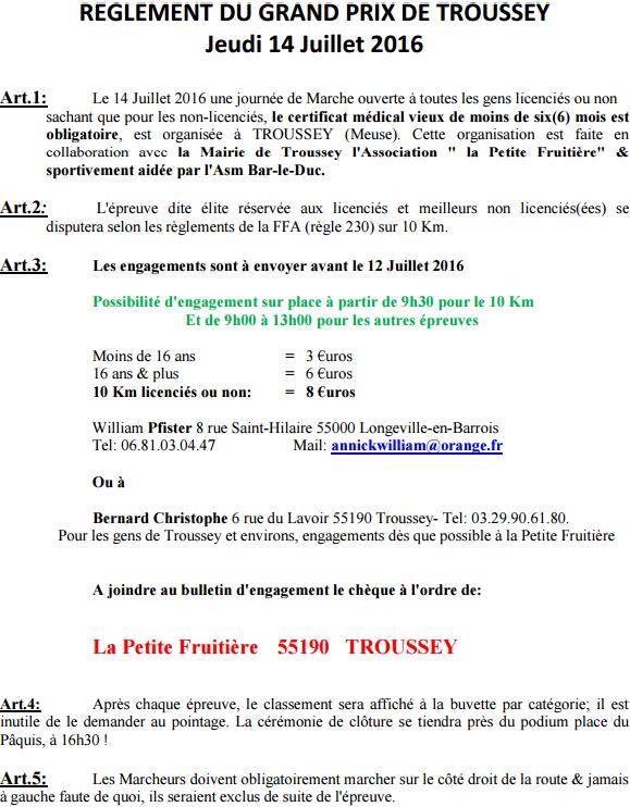 Grand prix de Troussey (55) : 10 km; 14 juillet 20116 Trouss13