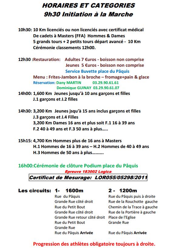Grand prix de Troussey (55) : 10 km; 14 juillet 20116 Trouss14