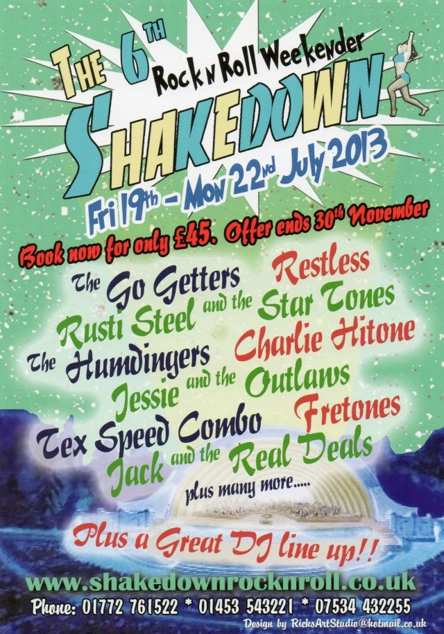 The 6th Shakedown weekender 19-22 juillet 2013 UK Img14810