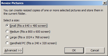 Redimensionner une image sous windows Tuto211