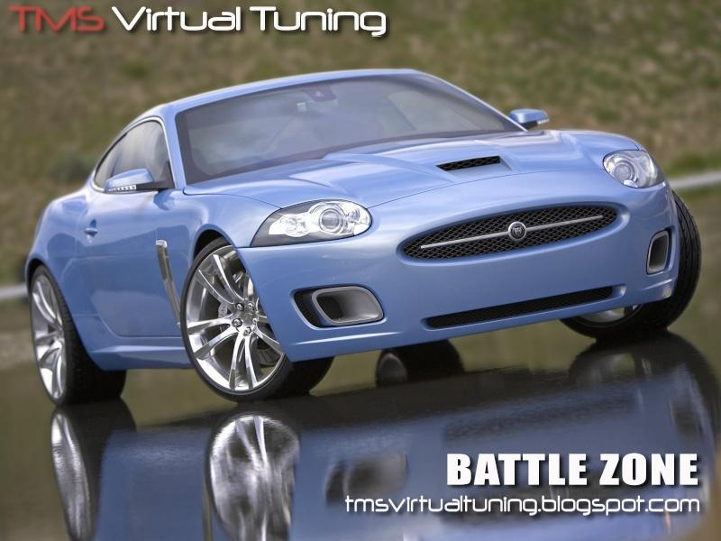 Jaguar XK for the competiton at TMS Virtual Tunings Battle Zone  Jaguar12