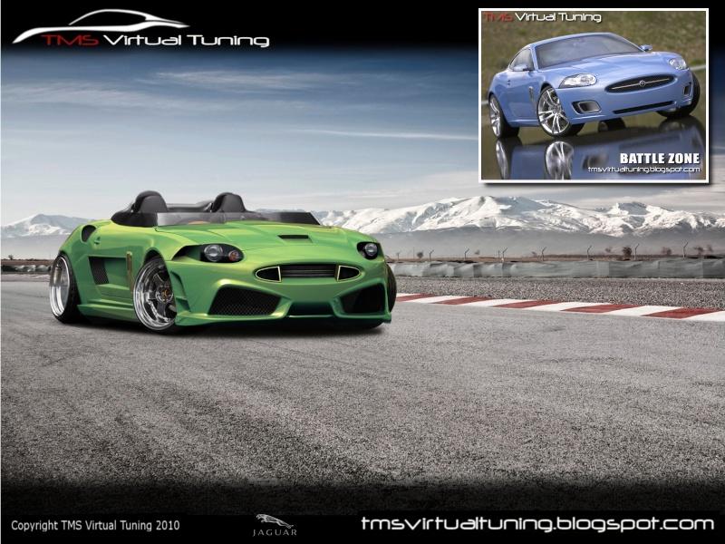 Jaguar XK for the competiton at TMS Virtual Tunings Battle Zone  Jaguar13
