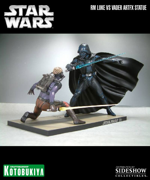 Kotobukiya - Ralph Mc Quarrie duel Vader / Luke ARTFX Statue 90105810