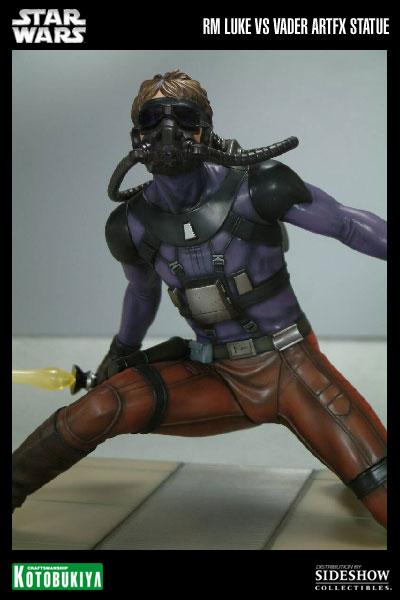 Kotobukiya - Ralph Mc Quarrie duel Vader / Luke ARTFX Statue 90105814