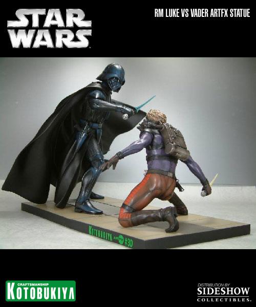 Kotobukiya - Ralph Mc Quarrie duel Vader / Luke ARTFX Statue 90105815