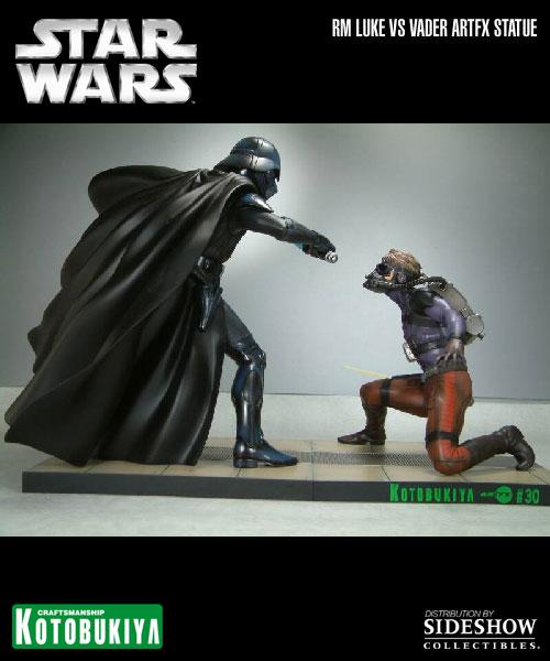 Kotobukiya - Ralph Mc Quarrie duel Vader / Luke ARTFX Statue 90105816
