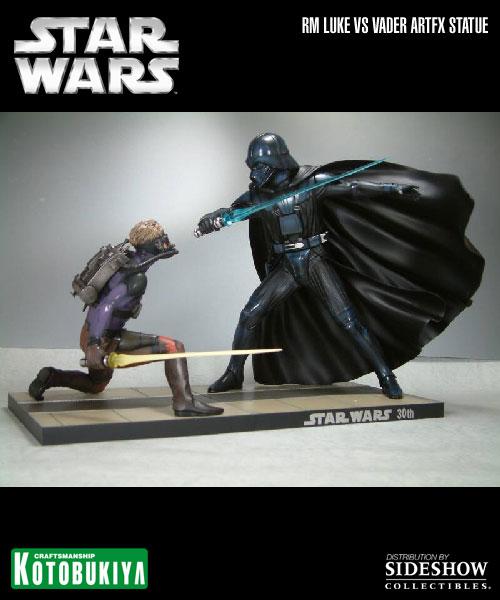 Kotobukiya - Ralph Mc Quarrie duel Vader / Luke ARTFX Statue 90105817