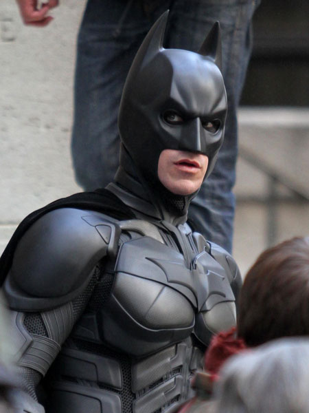 BATMAN THE DARK KNIGHT : N°2 Batman ( Christian Bale ) 2008 Batman19