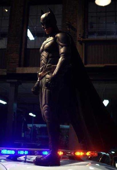 BATMAN THE DARK KNIGHT : N°2 Batman ( Christian Bale ) 2008 Batman22