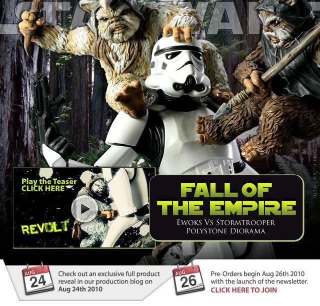 """Fall of the Empire"" – Ewoks vs. Stormtrooper Diorama Fall_o10"