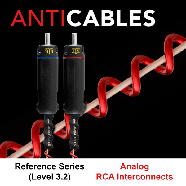 Various Interconnects: MIT, Taralabs, WireWorld, Anti Cables, Abbey Road, Kimber Kables Antica12