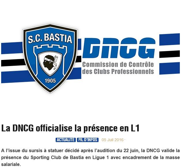 DNCG : le SCB en L1 pour la saison 2016-2017 S10