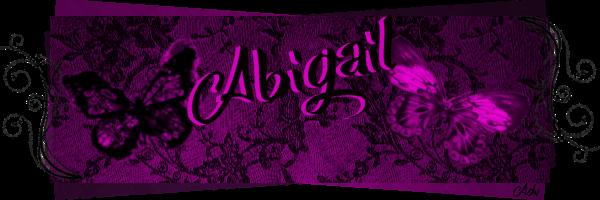 Bannières et avatars Abigai11