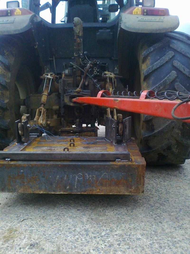 masse de tracteur Photo011