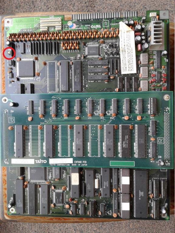 Rayforce PCB JAMMA 20200910